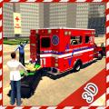 Ambulance Rescue Game 2017 Icon