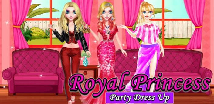 Royal Princess Party Dress up Games for Girls apk