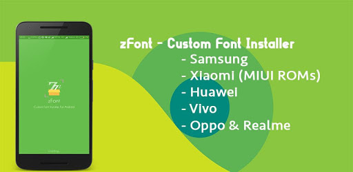 zFont - Custom Font Installer [No ROOT] apk