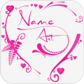 Name Art: Grid, GIF &  Collage Maker, Photo Editor Icon