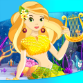 Princess Mermaid Dress Up Game Icon