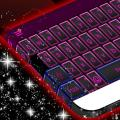 Pink and Black Keyboard Theme Icon