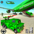 US Military Transporter: Army Truck Driving Games Icon