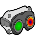 VR Thermal and Night Vision Camera  Simulated Icon
