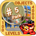 Pack 5 - 10 in 1 Hidden Object Games by PlayHOG Icon
