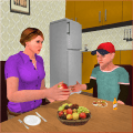 Step Mom Simulator: Happy Family Mother Life Icon