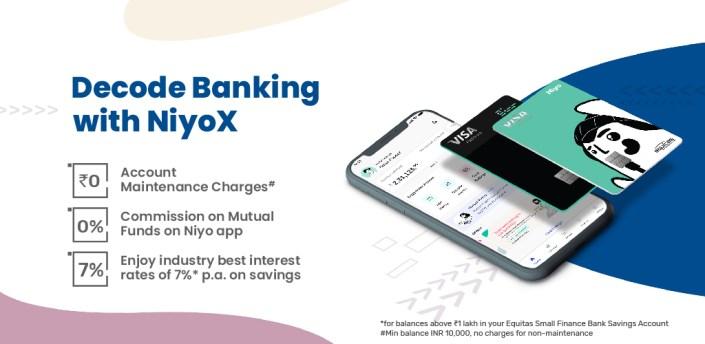 NiyoX - Digital Savings Account by Equitas apk