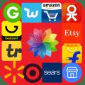 Online Shopping Mixer Icon