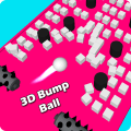 3D Bump Ball: Push The Hurdle Ball Moving Game Icon