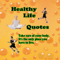 Healthy Life Quotes Icon