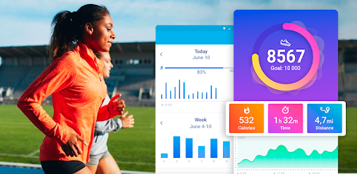 Pedometer for walking - Step Counter apk