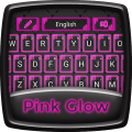 Pink Glow Keyboard Theme Icon