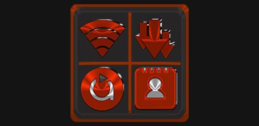 Red Orange Icon Pack ✨Free✨ apk