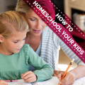 How To Homeschool Your Kids - Guide For Parents Icon