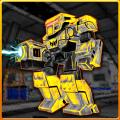 Robots War Space Clash Mission Icon