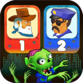 Two guys & Zombies (two-player game) Icon