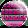 Keyboard Theme Frame PinkPurpl Icon