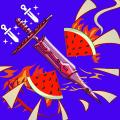 Knife Hit Fruit Game Icon