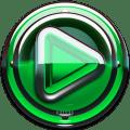 Poweramp skin Green Glas delux Icon