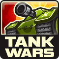 Battle of tanks. The tank wars. Icon