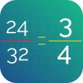Simplify Fractions Icon