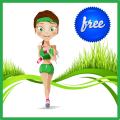 Lose Weight Fitness & Workouts Icon