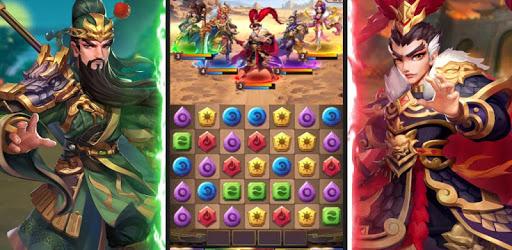 Three Kingdoms & Puzzles: Match 3 RPG apk