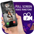 Full Screen Video Ringtone For Incoming Call Icon