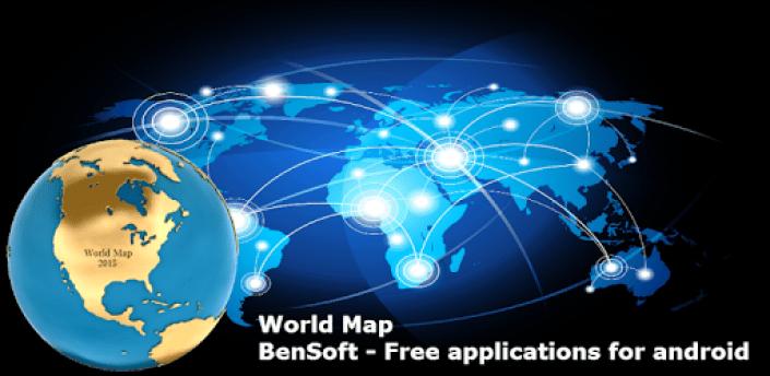 World map apk