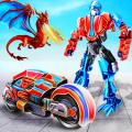 Police Fire Dragon Transform Hero Bike Robot Game Icon