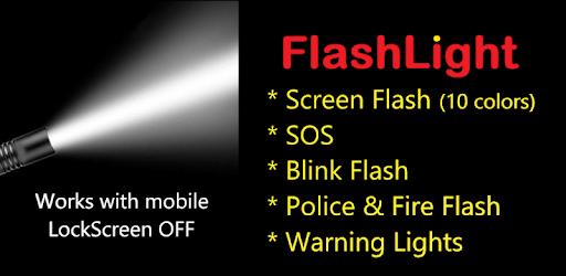 Shake FlashLight FREE : Torch and Screen Flash apk
