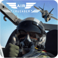 Air Crusader - Jet Fighter Icon