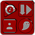 Red Icon Pack v8.3 (Free) Icon