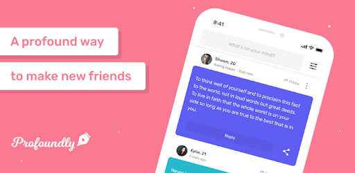 Profoundly: A profound way to make friends apk