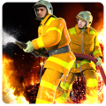 Modern Firefighter:City Fire Icon