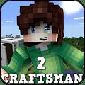 Crafts Man : Blocks World 2020 Icon
