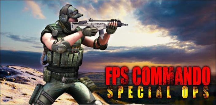 FPS Commando Shooting Strike: Sniper Shooting Game apk