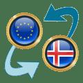 Euro x Iceland Krona Icon