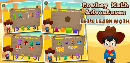 Cowboy Preschool Math Games apk