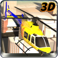 City Helicopter Flight Sim 3D Icon