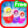 Matryoshka classic cool match 3 puzzle games free Icon
