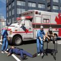 Ambulance Driver 3d Parking Icon