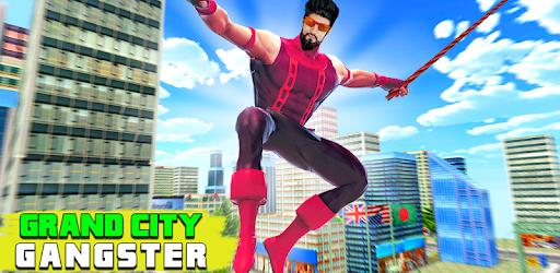 Grand City Mafia Crime - Super Rope Hero Game apk