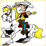 Lucky Luke Cartoons Icon