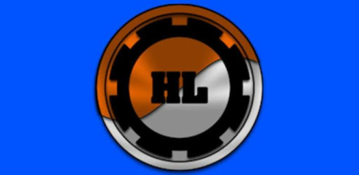 Half Light Orange Icon Pack Free apk