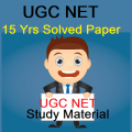 UGC NET 15 Years Solved Papers With Study Material Icon
