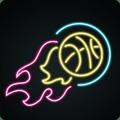 Neon Dunk : Basketball Game Icon