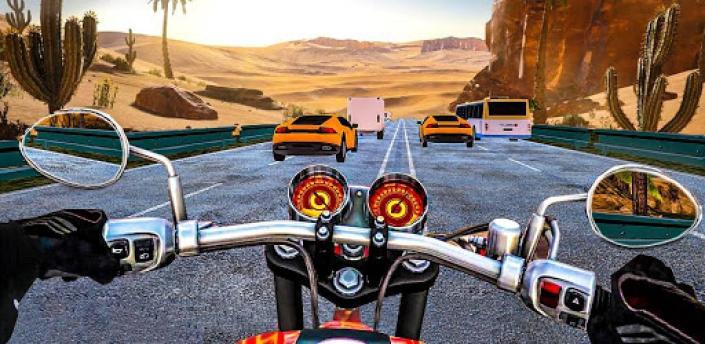 Highway Moto Bike Riding - Bike Racing Fever apk