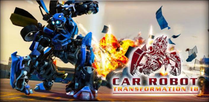 Car Robot Transformation 19: Robot Horse Games apk