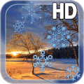 Sunset Winter Live Wallpaper Icon